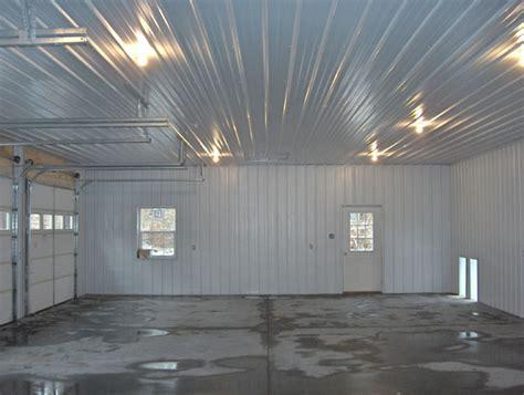 finishing pole barn interior walls studio design