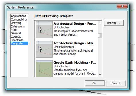 sketchup layout template location 1 building a bench your first sketchup model google
