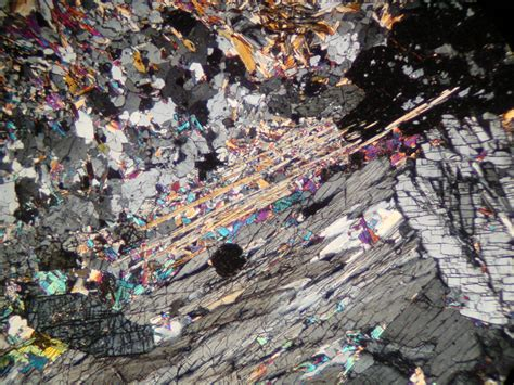 kyanite thin section kyanite photographs