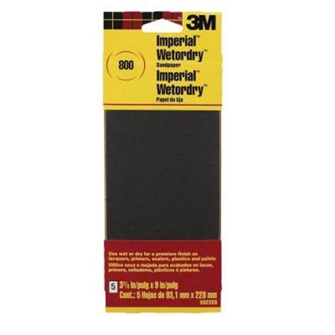 800 Grit Sandpaper by 3m 3 2 3 In X 9 In Imperial Wetordry 800 Grit Sandpaper