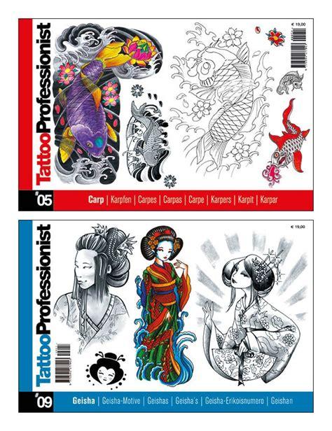 riviste tattoo geisha japanese style