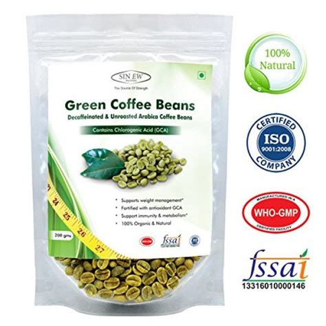 Green Coffee Premium Arabica Aceh compare buy sinew nutrition green coffee beans 200gm decaffeinated unroasted arabica coffee