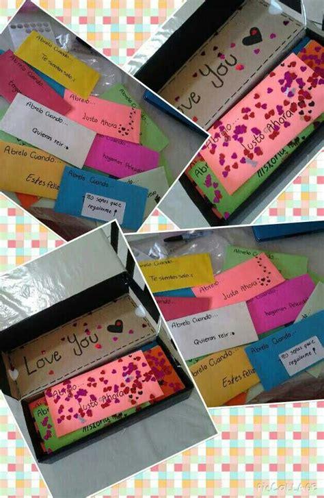 regalos originales para mi novio manualidades m 225 s de 1000 ideas sobre sorpresas para mi novio en
