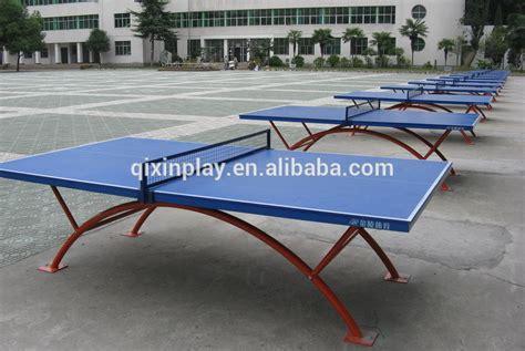 Tenis Meja Yang Paling Murah guangzhou pabrik harga murah luar tahan air meja meja ping pong tenis meja removable qx 141g