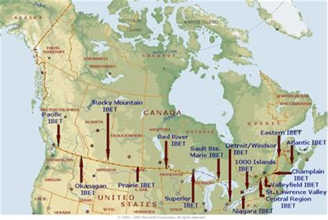 usa and canada border map the world s catalog of ideas