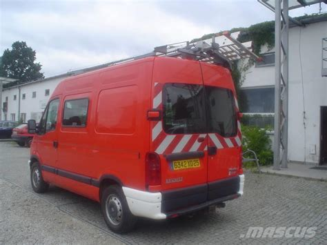 renault master 2001 used renault master pożarniczy fire trucks year 2001