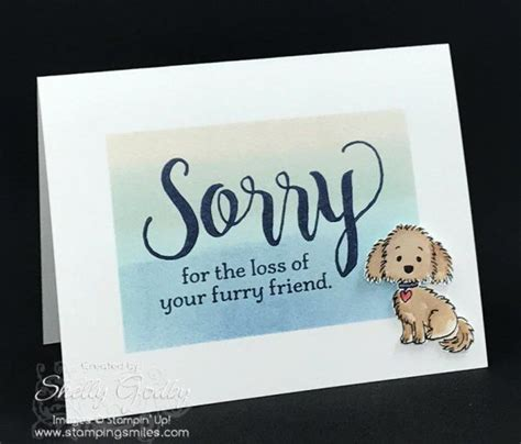 Pet Sympathy Card Template by Sted Sympathy Card Idea Made With Stin Up