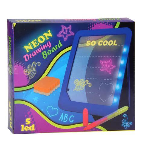 philips led len groothandel tekenbord neon met led pen thimble toys