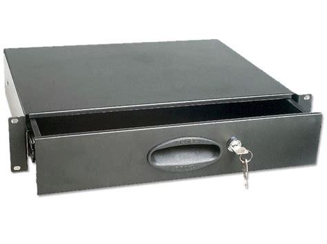 cassetto rack cassetto rack 19 quot 2 unit 224 con chiusura a chiave