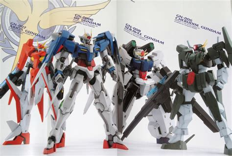 gundam 00 mobile suits gundam weapons mobile suit gundam 00 special edition ii