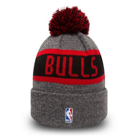 knit 1 chicago new era beanie marl knit nba chicago bulls