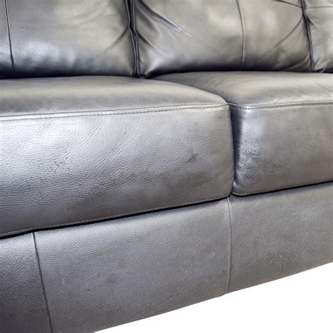 ikea black leather sofa 44 ikea ikea skogaby black leather sofa sofas
