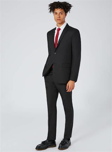 Sliming Suit 3 In 1 black slim fit suit jacket s blazers clothing topman
