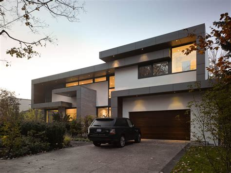house garage driveway garage impressive modern home in toronto canada