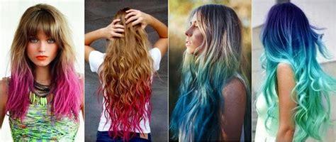 imagenes de mechas verdes tendencias reales colores de fantas 205 a en tu pelo