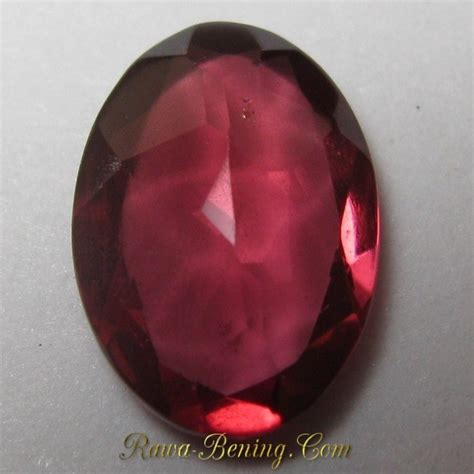 Merah Oval Cutting batu permata garnet merah oval cut 0 70 carat harga murah