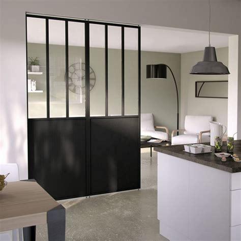 cloison vitr馥 cuisine separation en verre cuisine salon cuisine by atelier mep
