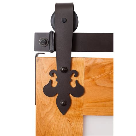 Everbilt Dark Oil Rubbed Bronze Arrow Decorative Sliding Rubbed Bronze Barn Door Hardware