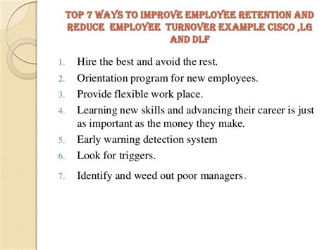 thesis on employee retention strategies employee retention