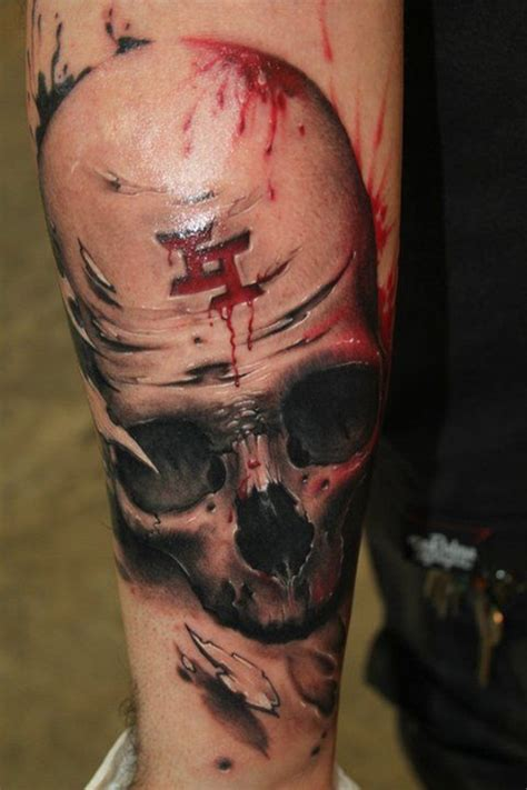 50 Scary Skull Tattoo Designs To Go With Skull Tattoos For