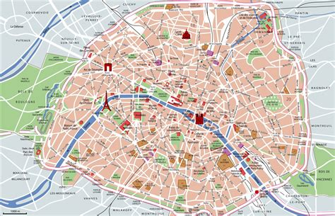 map of and attractions map of tourist attractions sightseeing tourist tour