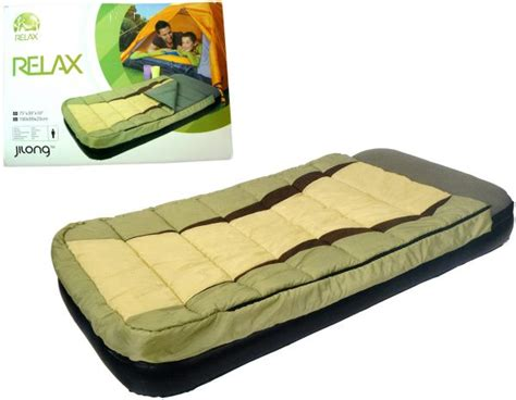 Sleeping Bag With Built In Pillow by 2 In 1 Set Of Bed And Sleeping Bag With Built