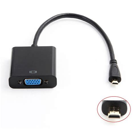 converter hdmi to mini hdmi micro hdmi input to vga output mini hdmi male adapter to