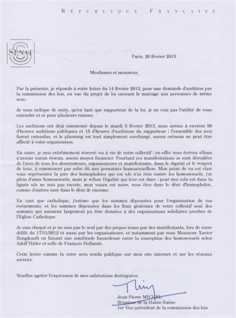 Exemple Lettre Demission Franc Maconnerie Mariage Le Rapporteur Du Texte Au S 233 Nat Refuse D