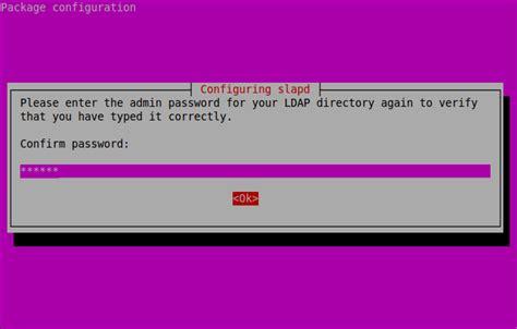 configure ubuntu ldap server openldap installation and configuration in ubuntu 12 10