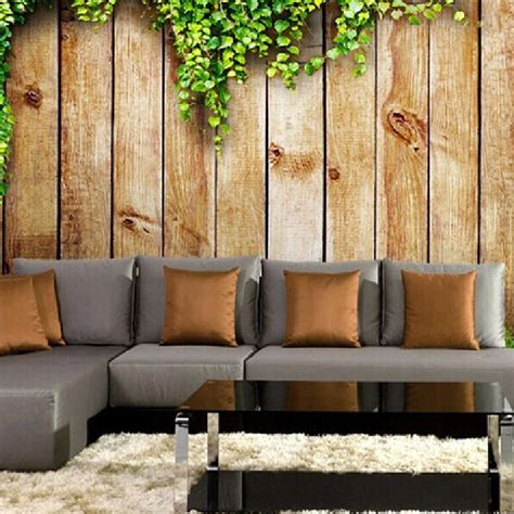 wooden wall murals great wall 3d vintage wood board photo wallpaper murals for walls tv background living room
