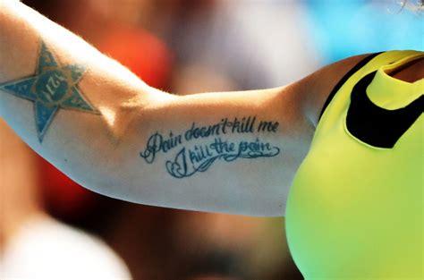 kuznetsova tattoo back svetlana kuznetsova photos photos 2017 australian open