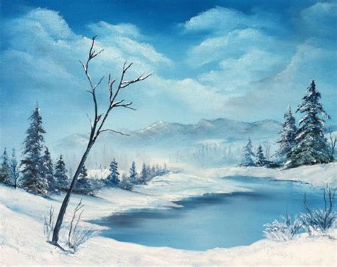 bob ross paintings snow 410 best images about painting on