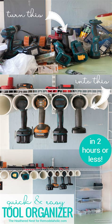 Power Organization 5 remodelaholic and easy diy power tool organizer