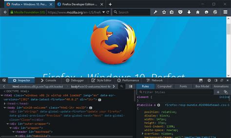 themes firefox 42 developer edition 42 wifi debugging win10 multiprocess