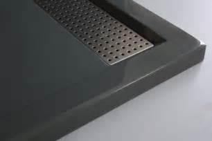 bernstein dusche mineralguss duschtasse rechteckig 1480bg edelstahl