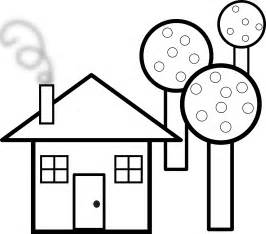 black and white home house clipart black and white clipart best