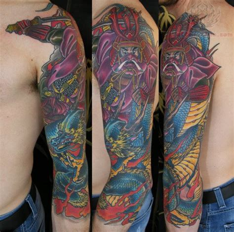 colorful half sleeve tattoos for men pics for gt half sleeve tattoos color