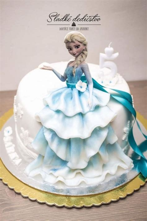 frozen cake for small princess she had two and two cakes and few conditions