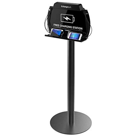 chargetech tower floor stand cell phone charging station review article usb charging station for iphone and devices