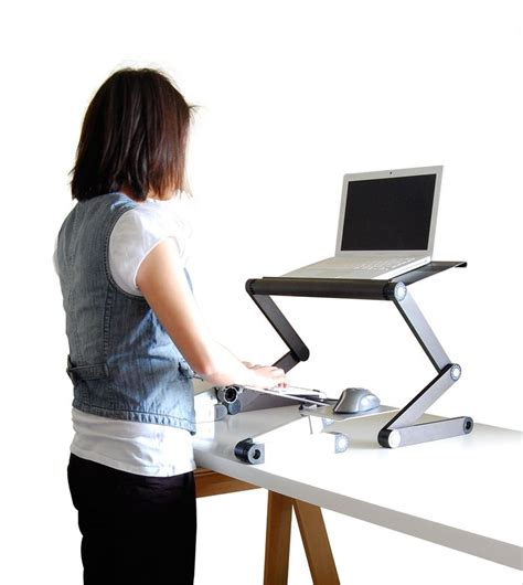 standing computer desk amazon stand up desk converter very cool not sure i would like