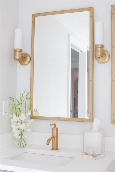 are brass bathroom fixtures out of style master suite addition final reveal elements of style blog