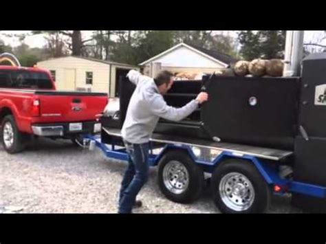 shirley trailer brent phelps and holy smokers cooking trailer by shirley f