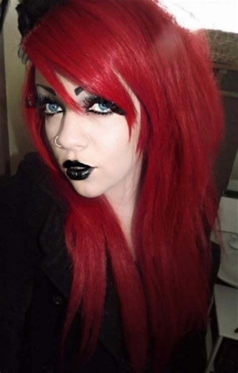 emo hairstyles for redheads gothic hairstyles beautiful hairstyles