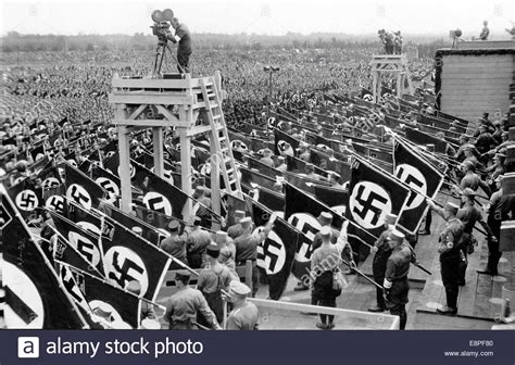 hitler nuremberg nazi rallies nuremberg rally 1933 in nuremberg germany line up of