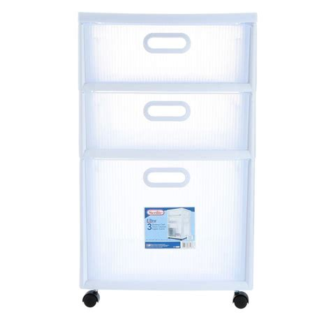 Sterilite 6 Drawer by Sterilite 16 In 2 Drawer Ultra Cart 2 Pack 36208002