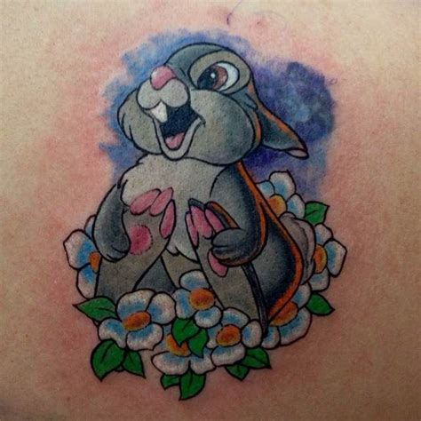 thumper tattoo thumper flower search tattoos