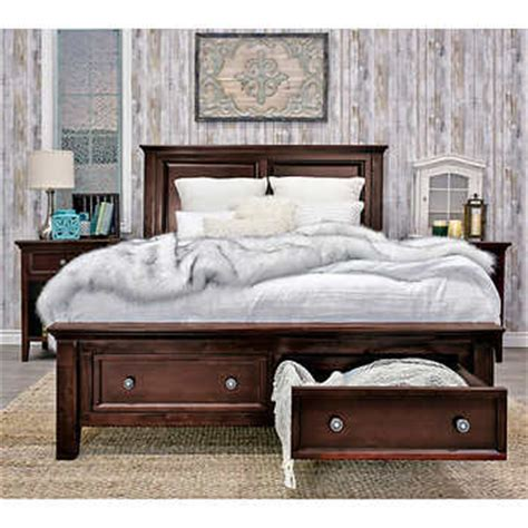 king storage bedroom set verona 5 piece king storage bedroom set