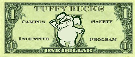 safety bucks earning tuffy bucks