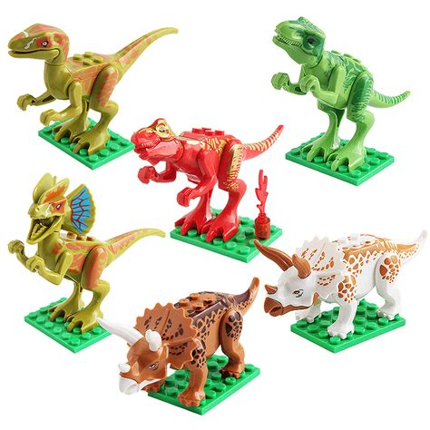 Figure 12 Pcs Dinosaurus Jurassic World jurassic world dinosaur minifig tyrannosaurus pterosaur
