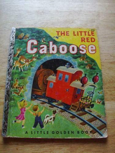 Little Golden Book Little Red Caboose Ebay
